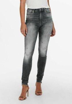 ONLY - Jeansy Skinny Fit - medium grey denim