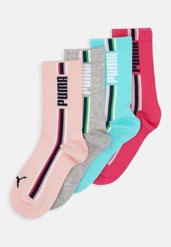 Puma - GIRLS SEASONAL STRIPE SOCK 4 PACK - Socken - mixed colors/grey melange