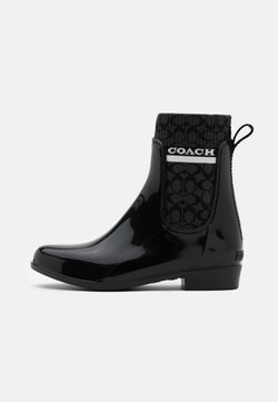 Coach - RIVINGTON RAIN BOOTIE - Kumisaappaat - black
