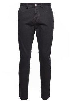 Superdry - STRAIGHT  - Chinos - washed black