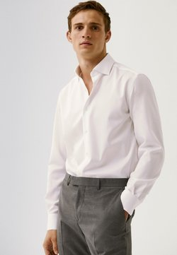 Massimo Dutti - EASY IRON - Businesshemd - white