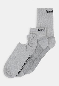 Reebok - ALL PURPOSE SOCK 3 PACK - Urheilusukat - medium grey heather