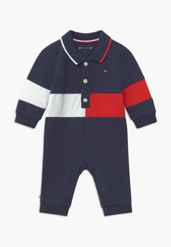 Tommy Hilfiger - BABY COLORBLOCK  - Combinaison - blue