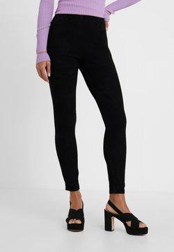 STUDIO ID - LENA SUEDE  - Legging - black