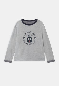 Petit Bateau - LOUSTIC REVERSIBLE  - T-shirt à manches longues - smoking/marshmallow