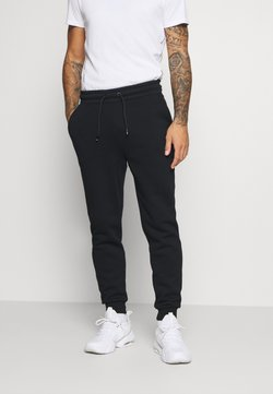 Tommy Hilfiger - CUFFED REGULAR PANT - Verryttelyhousut - black