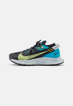 Nike Performance - PEGASUS TRAIL 2 - Zapatillas de trail running - off noir/limelight/laser blue
