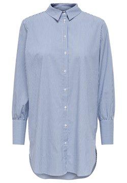 ONLY - ONLNELLY  - Hemdbluse - bright white/stripes: blue
