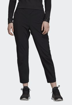 adidas Performance - HIKE TECHNICAL HIKING PANTS - Jogginghose - black