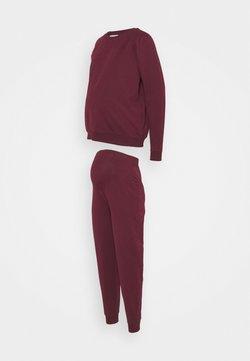 Anna Field MAMA - SET - Sweatshirts - bordeaux