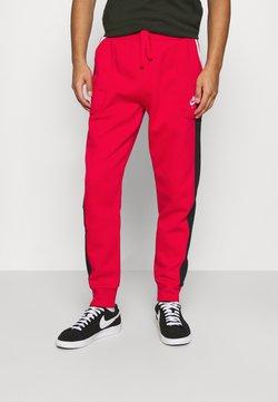 Nike Sportswear - AIR - Jogginghose - university red/black/white
