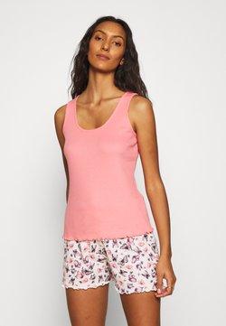 Dorothy Perkins - BUTTERFLY VEST SHORT  - Pyjama - pink