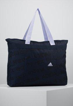 adidas Performance - Sporttasche - legink/black