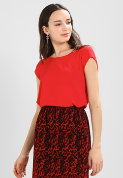 ONLY - ONLVIC SOLID  TOP - Blouse - high risk red