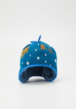 Patagonia - BABY REVERSIBLE BEANIE UNISEX - Pipo - cosmic dreams/crater blue