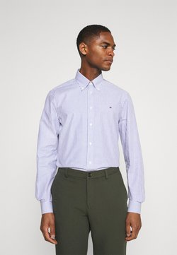 Tommy Hilfiger Tailored - WIDE STRIPE SLIM FIT - Camisa - navy/white