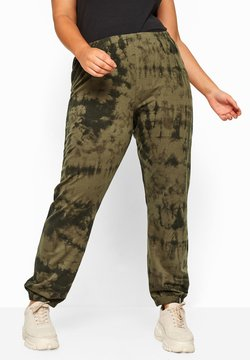 Yours Clothing - Jogginghose - green