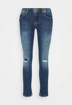 True Religion - NEW HALLE REGULAR WAIST - Jeans Skinny Fit - blue