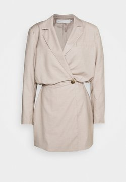 Nly by Nelly - OVERSIZED BLAZER DRESS - Vestito elegante - beige