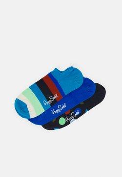 Happy Socks - STRIPE NO SHOW SOCK UNISEX 3 PACK - Socken - multi