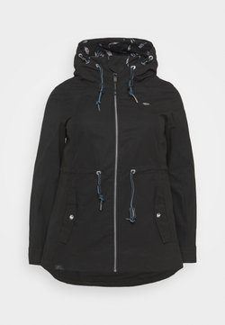Ragwear Plus - MONADIS - Parka - black