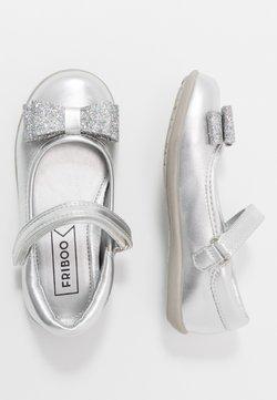 Friboo - Riemchenballerina - silver