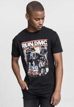 Mister Tee - RUN DMC KING OF ROCK - T-Shirt print - black