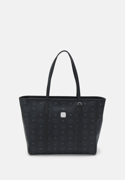 MCM - TONI VISETOS - Shopping bag - black