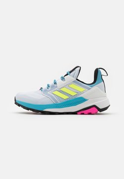 adidas Performance - TERREX TRAILMAKER - Laufschuh Trail - halo blue/hi-res yellow/crystal white