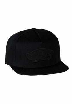Vans - MN CLASSIC PATCH SNAPBACK - Cappellino - black / black