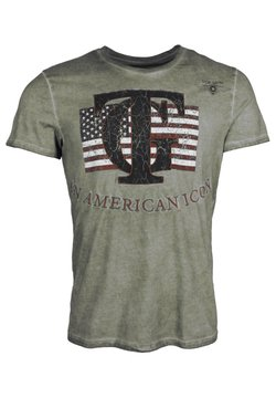 TOP GUN - T-shirt print - olive