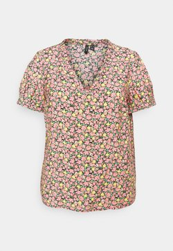 Vero Moda Curve - VMELLIE - Bluse - geranium pink