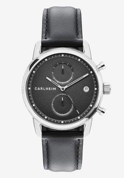 Carlheim - NICHOLAS  - Rannekello ajanottotoiminnolla - silver/black