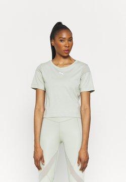 Puma - PAMELA REIF X PUM TEE BACK CUTOUT - T-Shirt print - desert sage