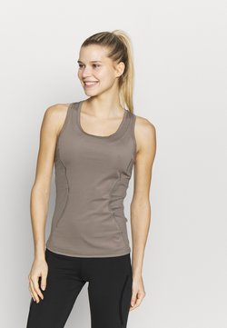 adidas by Stella McCartney - ESSENTIALS TANK - Funktionsshirt - simple brown