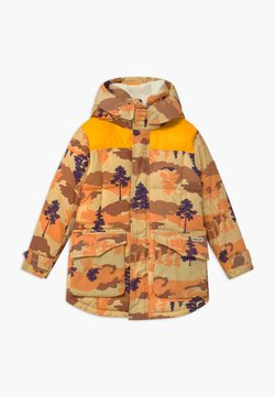 Scotch & Soda - PADDED - Wintermantel - brown/orange