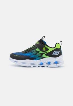 Skechers - VORTEX-FLASH - Sneakers - black/blue/lime