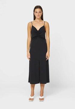 Stradivarius - LINGERIE-OPTIK - Cocktailkleid/festliches Kleid - black