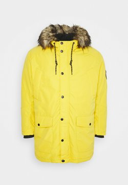 Jack & Jones - JJSKY JACKET - Wintermantel - spicy mustard