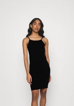 ONLY - ONLLIVE LOVE SHORT DRESS - Jerseykjoler - black
