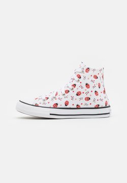 Converse - CHUCK TAYLOR ALL STAR  - Korkeavartiset tennarit - white/red/black