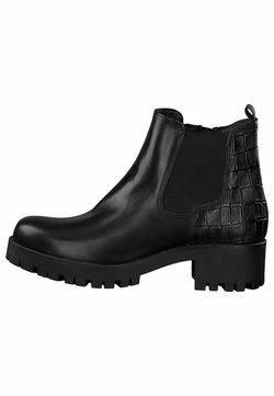 Tamaris - Ankle Boot - black/struct.
