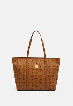 MCM - TONI VISETOS - Shopping Bag - cognac