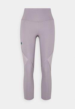 Under Armour - RUSH CROP - Tights - slate purple