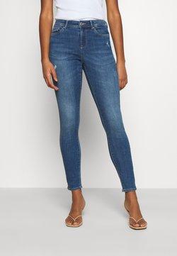 ONLY - ONLWAUW LIFE MID - Jeans Skinny Fit - medium blue denim