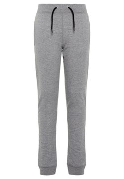 Name it - NKMSWEAT - Trousers - grey melange