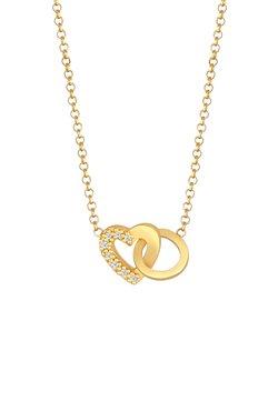 Elli DIAMONDS - HERZ LIEBE - Halsband - gold