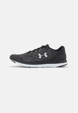 Under Armour - CHARGED IMPULSE - Zapatillas de running neutras - black/iridescent