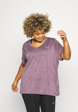 Under Armour - TECH TWIST  - T-shirts - purple
