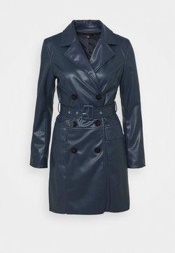 Who What Wear - BELTED JACKET DRESS - Robe d'été - dark navy
